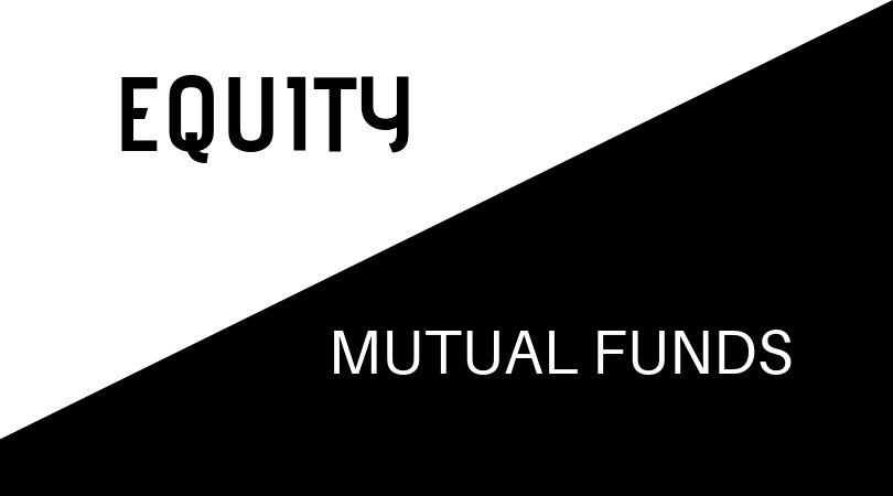 equity vs mutual funds