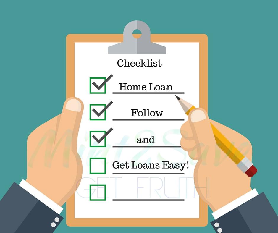 Home Loan | Housing Loan Checklist