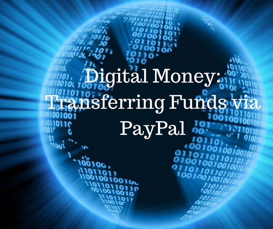 Transferring funds via Paypal