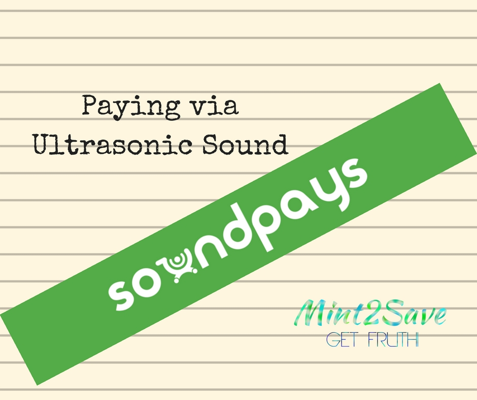 SoundPays: Paying via Ultrasonic Sound