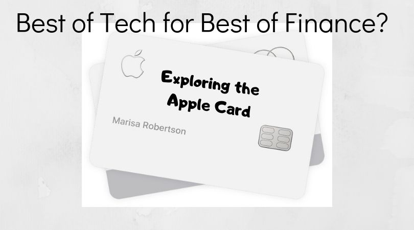 using the apple card