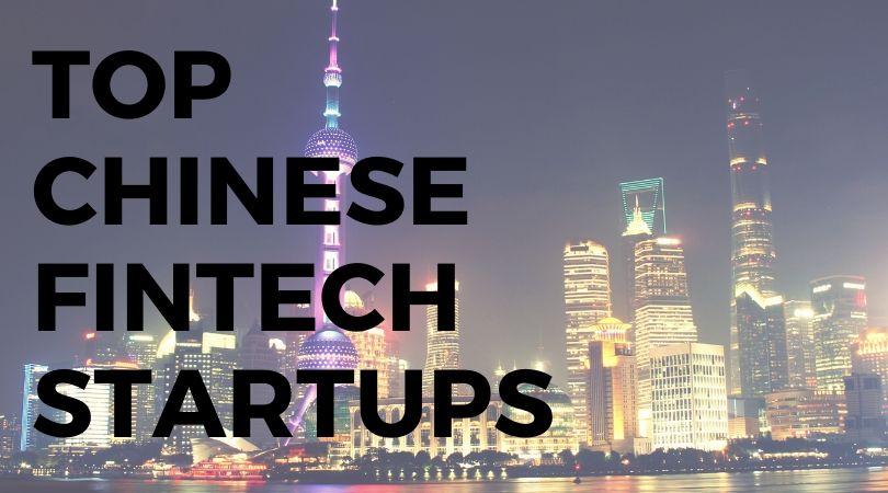 top chinese fintech startups