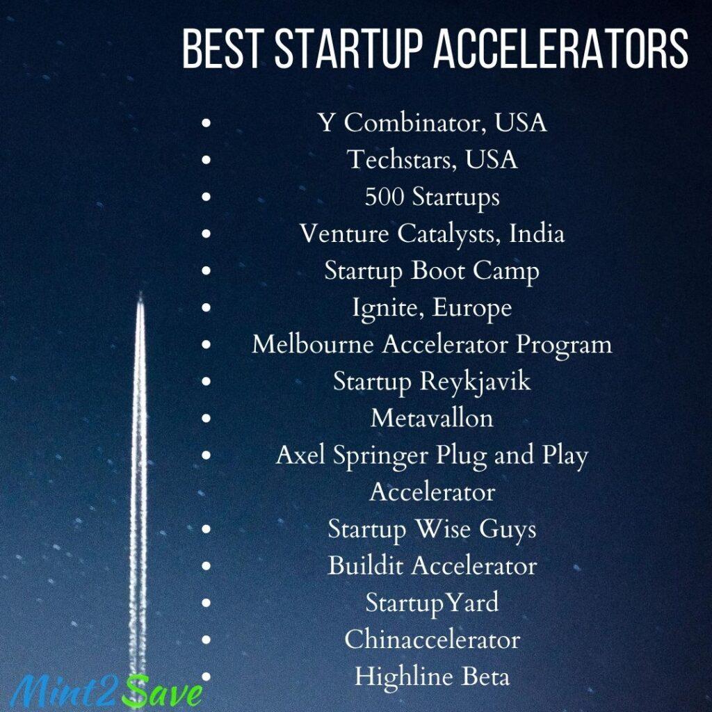 Top Startup Accelerators
