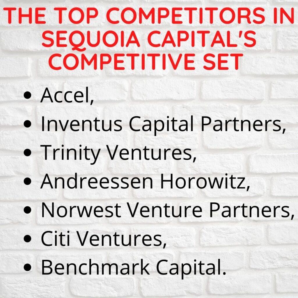 Sequoia Top Competitors