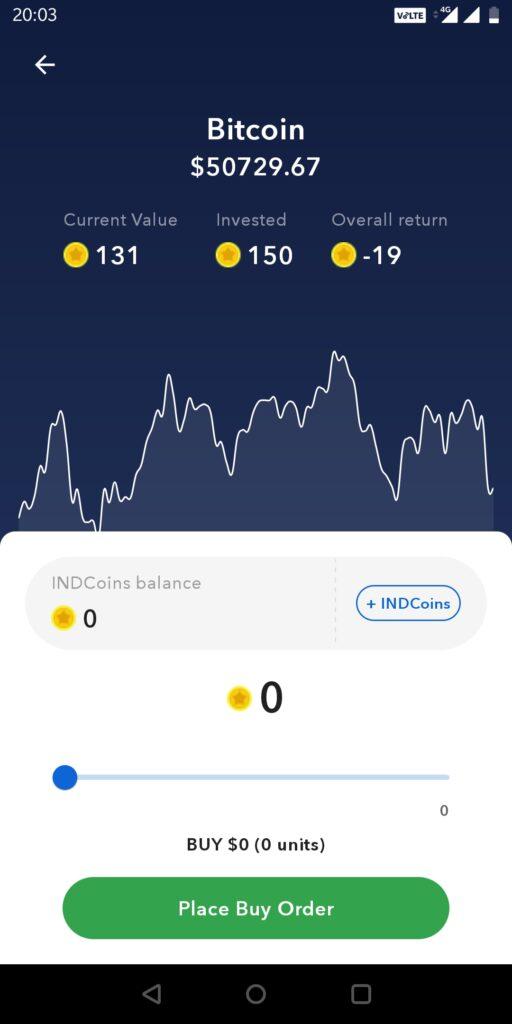 INDMoney Cryptocurrency