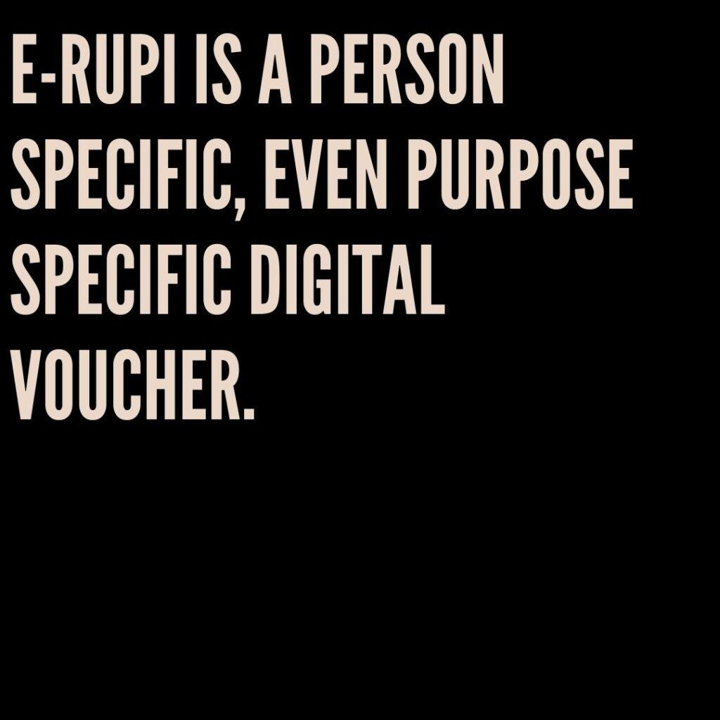 E Rupi Digital Voucher